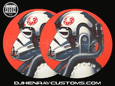 At At pilot Dj Slipmats (pair) sl1200mk2 mk5 m3d m5g Technics or any turntable