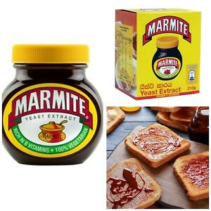 Marmite Large Yeast Extract Spread 210g 100% Vegetarian Rich in B12 Vitamins