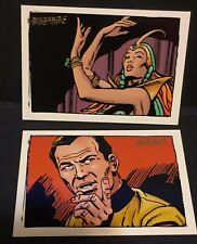 Star Trek TOS Art & Images LOT of ( 2 ) Gold Key Comic Book Art CHASE Cards