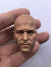 "Custom 1/6 The Expendables Jason Statham HeadSculpt fit 12"" Male figure body"