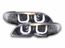 Coppia fanali Angel Eyes BMW serie 3 E46 Limo/Touring Anno: 02-05 nero