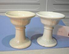 2 bougeoirs, calices , en porcelaine du Puy, Marcaggi… lot2