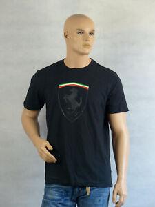 Scuderia Ferrari Herren FW Mono Shield Graphic T-shirt Gr. L