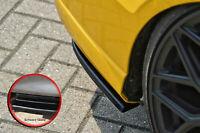 Heckansatz Spoilerecken Seitenteile ABS Audi A3 S3 8V Limousine schwarz glanz