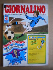 GIORNALINO n°15 1978 ABU KIR ABU SIR - Asterix Pinky + inserto  [G555]