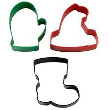 Wilton Winterwear 3 Piece Cookie Cutter Set