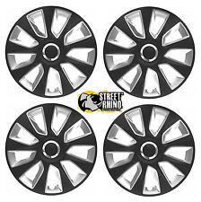 "Chrysler Sebring 14"" Universal Stratos RC Wheel Cover Hub Caps x4"