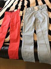 2 X Boys H&M Pants -7-8 Years Bnwt