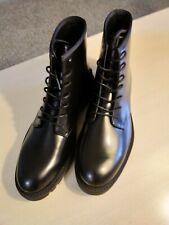Calvin Klein Fenton Box Leather Boots - Combat / Moto / Louboutin Boot - US10