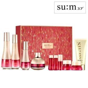 Su:m37 Fleur Regenerative Toner Eulmsion Cream Serum 4 Set Foam Cleanser Beauty