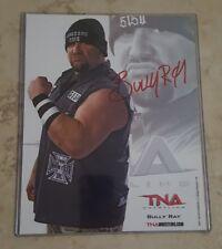 Bully Ray Signed TNA 8x10 Promo Photo Bubba Ray Dudley WWE ECW AUTO COA