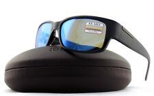 POLARIZED New Authentic SERENGETI MERANO Satin Shiny Black 555NM Sunglasses 8267