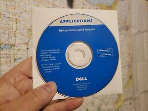 Dell backup: for Dell-installed programs P/N 0D027 Rev. A00  Dec. 2000