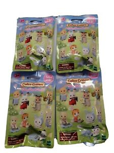 Calico Critters Baby Band Series Blind Bags Lot of 4 NEW Sealed SHIPS FREE