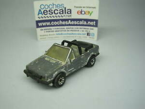 1/64 Matchbox USADO USED REF 125 Ford escort MKIII cabriolet 1/56 cochesaescala