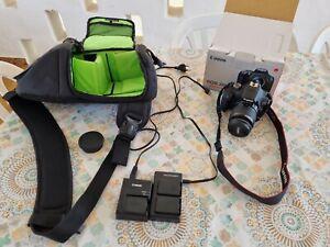 Canon EOS 2000D+ Obiettivo Kit EF-S 18-55 IS II  usata