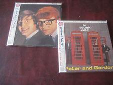 PETER & GORDON 40TH ANNIVERSARY JAPAN REPLICA OBI RARE LIMITED 2002 CD SET