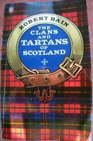 The Clans and Tartans of Scotland by Bain, Robert, Acceptable Used Book (Paperba