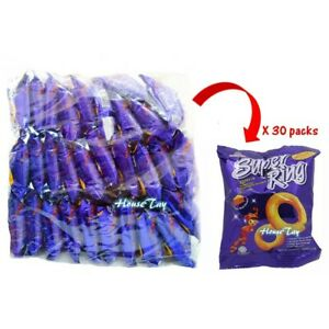 [Ready Stock] Super Ring Cheese Snack 14g x 30 packets