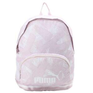 New Puma Core Backpack Sac à Dos School Sport Gym Ordinateur PC Rose 07539601