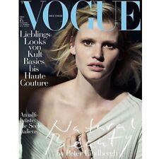 Vogue Magazine Deutsch Germany May 2017 Lara Stone Peter Lindbergh NEW