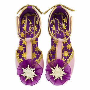 New Disney Store Rapunzel Costume Shoes Tangled The Series 9/10,2/3