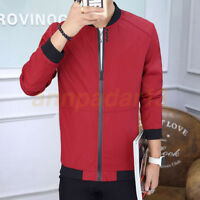 Men's Jacket Slim Collar Coat Overcoat Warm Casual Fashion Outwear