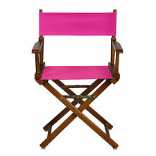 "Casual Home 18"" Director's Chair Honey Oak Frame-magenta Canvas"