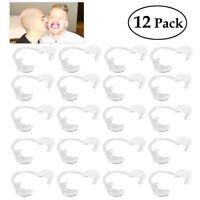 BESTOYARD 12pcs C-forme Ouvre-bouche Dentaire Rétracteur Ecarteur des Dents Kit