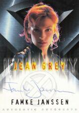 Topps X-Men Movie Rare Famke Janssen as Jean Grey Auto Card