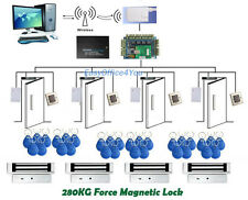 WiFi RFID Entry Control Kits for Yoga Sports Fitness Club/ Home Office Access