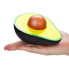 Funny Half Avocado Squishy Slow Rising Cream Scented Squeeze Stress Relief Toys