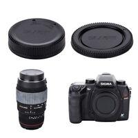 JJC Body Cap and Rear lens cap for SIGMA SD9 SD10 SD14 SD15 SD1 & SA Mount Lens