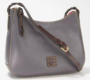 Dooney & Bourke Florentine Leather Tracy Crossbody - Slate