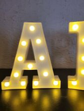 light up bar sign letters, weddings, parties