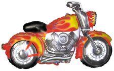 "MOTORCYCLE MOTORBIKE HARLEY DAVIDSON LIKE BIRTHDAY BALLOON - 45"" FOIL BALLOON!"