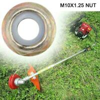 M10x1.25 Left Hand Thread Blade Nut For Strimmer Brush Trimmer Durable U3L5 P2P6