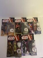 star wars the force awakens action figure lot Of 5 Nib