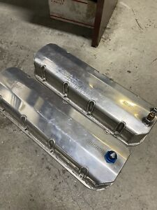 Big Block chevy Aluminum Moroso valve covers