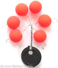 HI VIZ 6mm BLOB FLOATS SEA GAME COARSE CARP FISHING BLOBS FLOATING POP UPS RIGS