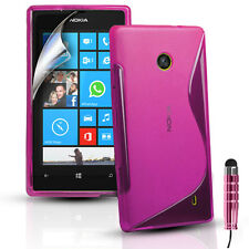 Silicone Gel Case Cover Fits Nokia Lumia 630 / 635 (BLACK MODEL ONLY FOR 635)
