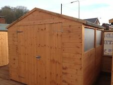 12X12 APEX GARDEN SHED / WOODEN SHEDS / T&G/ QUALITY TIMBER