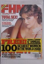 FHM MAGAZINE #3 ALICIA SILVERSTONE JULY AUG 2000 NEW SEALED 100 SEXIEST WOMEN