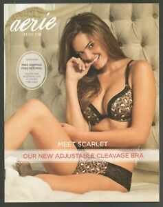 """Aerie Lingerie Catalog 2012 24 pages of fashion """"pretty goes with everything"""""""