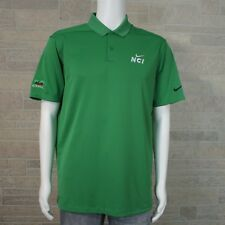 Nike Golf DriFit Polo Shirt LARGE Nike Collegiate Invitational Colonial TX Green