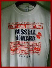 RUSSELL HOWARD - TOUR T-SHIRT (S)  NEW & UNWORN