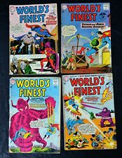 World's Finest # 131, 132, 133 and 134 Dc Comics Silver Age 1963