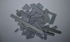Lego Steine 100g hellgrau 1x1 bis 1x16 light gray bricks , 100 Gramm (hgr2)