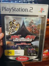 MX vs ATV Unleashed  (no booklet) - PLAYSTATION 2 PS2 - FREE POST