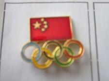 1988 SEOUL Olympics CHINA NOC Pin Badge